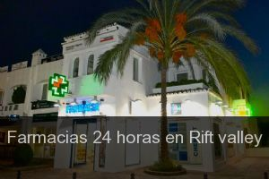 Farmacias 24 horas en Rift valley
