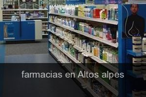 Farmacias en Altos alpes