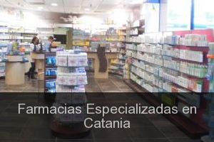 Farmacias Especializadas en Catania (Ciudad)